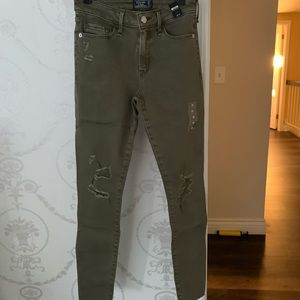 Abercrombie and Fitch super skinny jeans 25